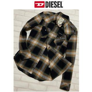 DIESEL - DIESEL ディーゼル/インディアン チェック シャツ