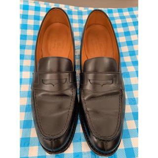 リーガル(REGAL)のジャランスリウァヤ ローファー ブラック UK5 24cm  (ローファー/革靴)