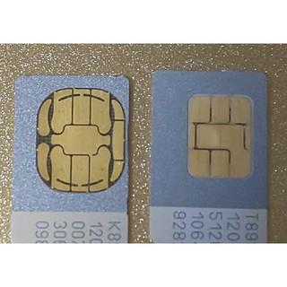 ソフトバンク(Softbank)のSoftBank=標準SIMカード×2枚 (解約済み)(その他)