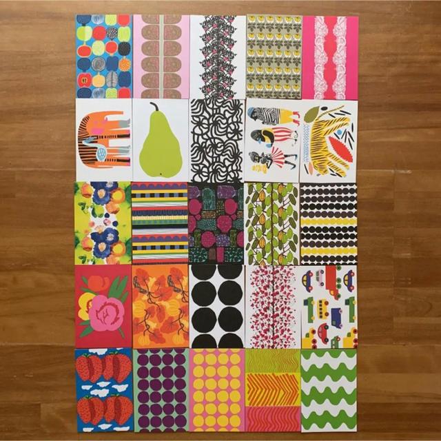 marimekko(マリメッコ)のマリメッコ marimekko ポストカード 50枚セット インテリア/住まい/日用品のインテリア小物(その他)の商品写真