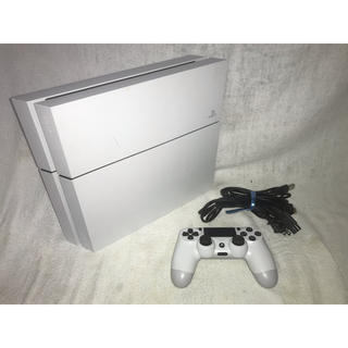 PlayStation4 - ps4本体 500gb 白 ホワイト