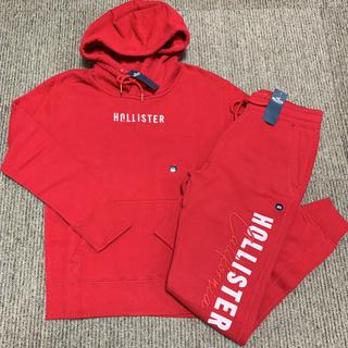 ホリスター(Hollister)の【新品】ホリスター セットアップ 上下 フルジップパーカー&ジョガーパンツ(トレーナー/スウェット)