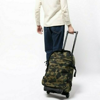 A BATHING APE - 1ST CAMO TRAVEL LUGGAGE (CORDURA)