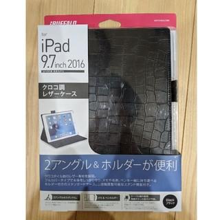 バッファロー(Buffalo)の新品・未使用! iPad用 クロコ調レザーケース(その他)