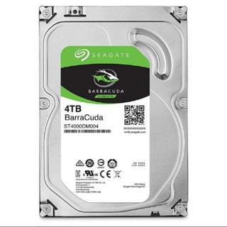 Buffalo - SEAGATE 4TB ハードディスク HDD SSD
