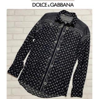 DOLCE&GABBANA - DOLCE&GABBANA/ドルチェ&ガッバーナ ドレスシャツ