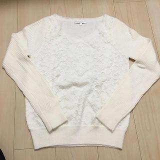 PROPORTION BODY DRESSING - ほぼ未使用 プロポーション ボディドレッシング  ニット セーター リブ 花柄
