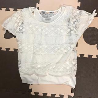 レース☆Tシャツ(Tシャツ(半袖/袖なし))