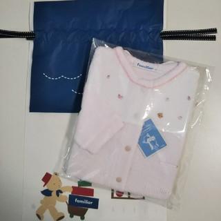 familiar - 【新品 袋付き】ファミリア  ロンパース  70 ピンク