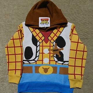 Disney - 【新品】ディズニー トイ・ストーリー ウッディ なりきり パーカー 120cm