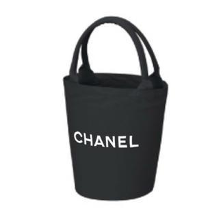 CHANEL - CHANEL バケツ型バングル持ち手トートバッグノベルティー