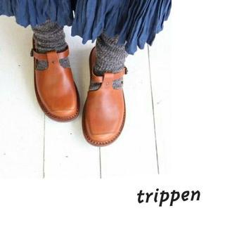 trippen - Trippen/walker cuoio 36