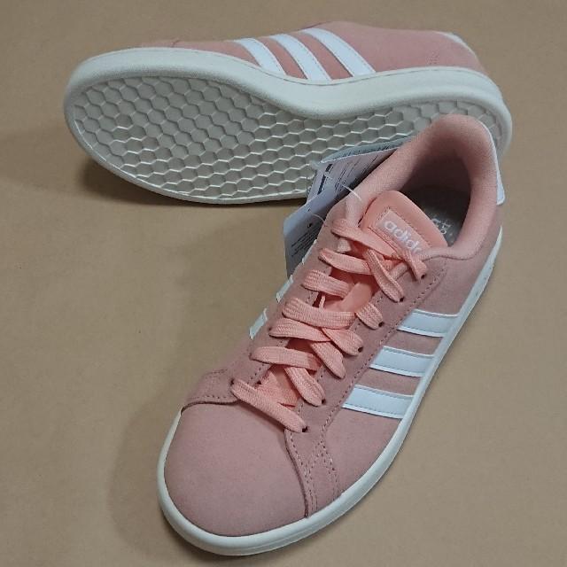 adidas(アディダス)のカジュアルS 24.5cm アディダス GRANDCOURT SUE W レディースの靴/シューズ(スニーカー)の商品写真