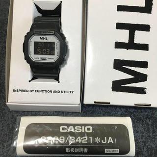 MHL. G-SHOCK コラボ 美品 生産終了品