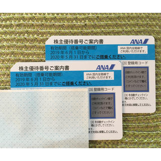 ANA(全日本空輸) - ANA株主優待券2枚組