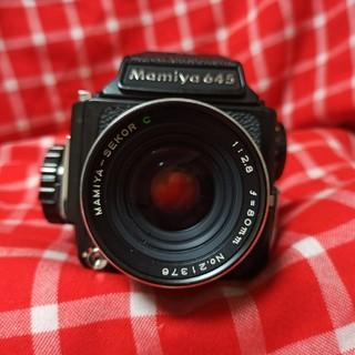 マミヤ(USTMamiya)のMamiya M645 1:2.8 f=80mm (フィルムカメラ)