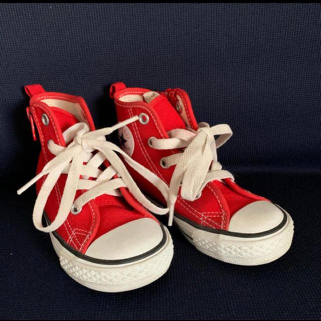 CONVERSE(コンバース)のコンバース ハイカットスニーカー 16cm キッズ/ベビー/マタニティのキッズ靴/シューズ(15cm~)(スニーカー)の商品写真