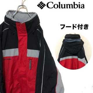 コロンビア(Columbia)のcolumbia コロンビア マウンテンパーカー ナイロンジャケット 胸ロゴ(ナイロンジャケット)