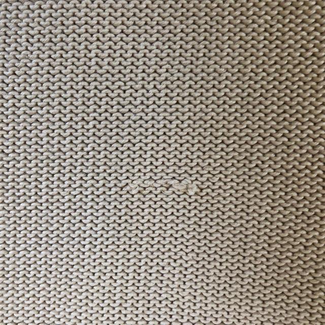 FOXEY(フォクシー)のフォクシー ニット ジャケット ベージュ 38 レディースのジャケット/アウター(ノーカラージャケット)の商品写真