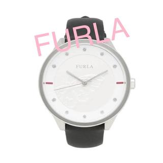 Furla - FURLA レディース腕時計 新品未使用 シンプルケース 黒革バンド