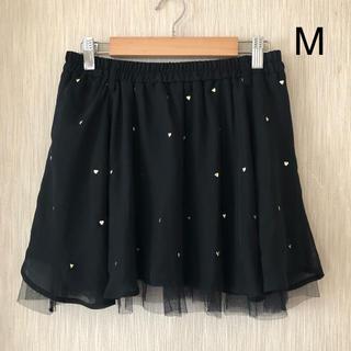 キラキラハートのミニスカート   M(ミニスカート)