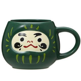Starbucks Coffee - 縁起物★スターバックス マグだるまグリーン237ml オリンピック願掛け