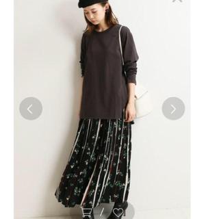 IENA - イエナ ラウンドテールロングTシャツ