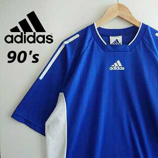 アディダス(adidas)の788 adidas 90s ゲームシャツ 2XO ビッグサイズ(Tシャツ/カットソー(半袖/袖なし))