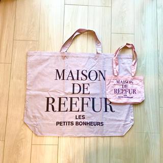 メゾンドリーファー(Maison de Reefur)のMAISON DE REEFUR ショッパーセット(ショップ袋)