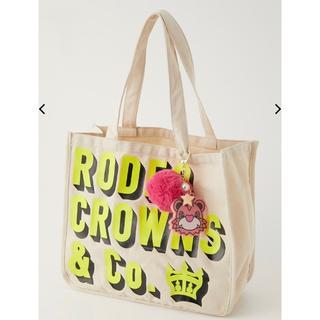 RODEO CROWNS WIDE BOWL - ロデオクラウンズ RODDY SP TOTE ロディ トートバッグ オフ白