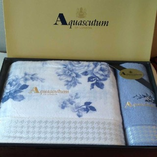 アクアスキュータム(AQUA SCUTUM)のアクアスキュータム Aquascutumバスタオル&ウォッシュタオル(タオル/バス用品)