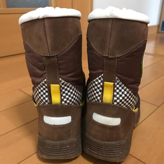 スノーブーツ 19~20cm キッズ/ベビー/マタニティのベビー靴/シューズ(~14cm)(ブーツ)の商品写真