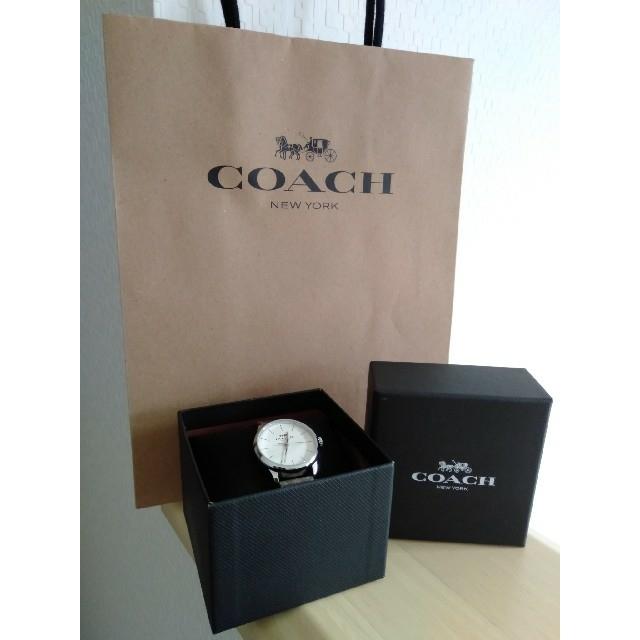 COACH - COACH正規品 レディース腕時計 箱説明書袋付き コーチシグネチャー フラワーの通販
