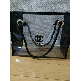 CHANEL - CHANELクリアバッグ(送料込み)