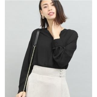 ViS - Vis ♡新品タグ付き♡ブラックのとろみシャツ