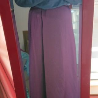 GU - GU サテンロングスカート