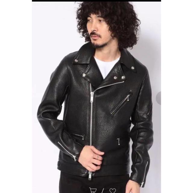 Lewis Leathers(ルイスレザー)の19FW UNCUTBOUND 別注 MANILA LEATHER RIDERS メンズのジャケット/アウター(ライダースジャケット)の商品写真