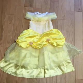 Disney - ディズニーランド購入 ベル ドレス  100