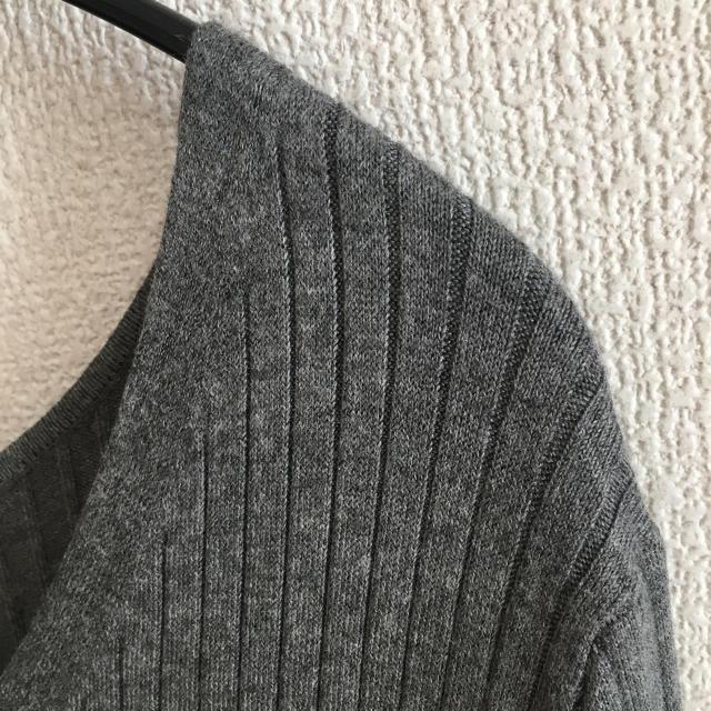 GU(ジーユー)のGU Vネックニット XL レディースのトップス(ニット/セーター)の商品写真