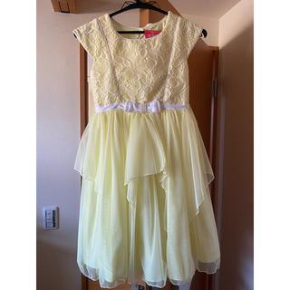 コストコ - コストコ ドレス 黄色 130cm
