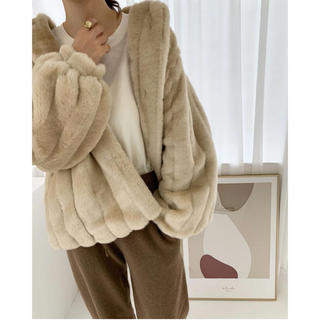 TODAYFUL - nuebuys eco fur jk エコファーコート
