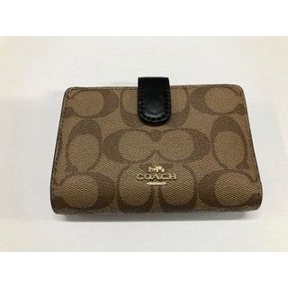 COACH - 新品 コーチ 二つ折り財布 アウトレット F23553