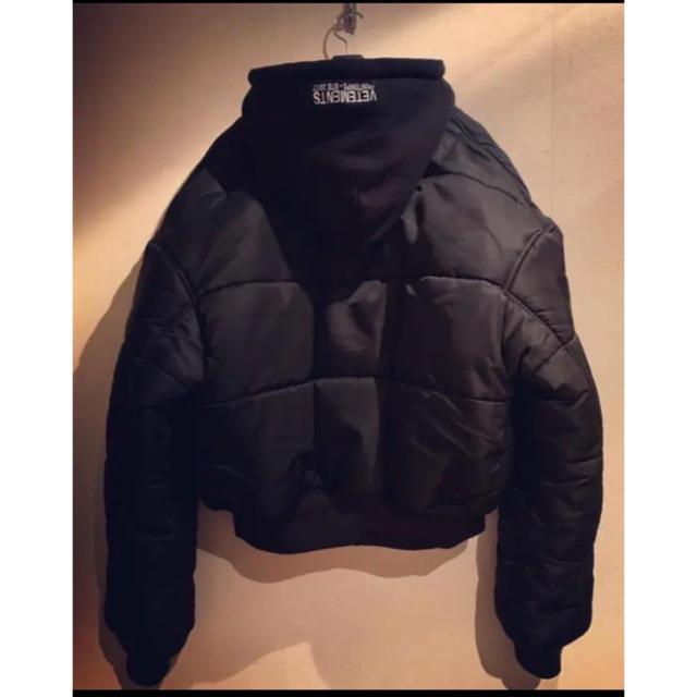 FEAR OF GOD(フィアオブゴッド)のVETEMENTS ヴェトモン ボンバージャケット オーバーサイズMA-1 S メンズのジャケット/アウター(フライトジャケット)の商品写真