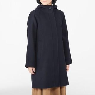 MUJI (無印良品) - 無印良品 ウール ロングコート
