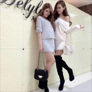 Delyle NOIR - Delyle NOIR アイスニット スカート♡ダチュラ エミリアウィズ