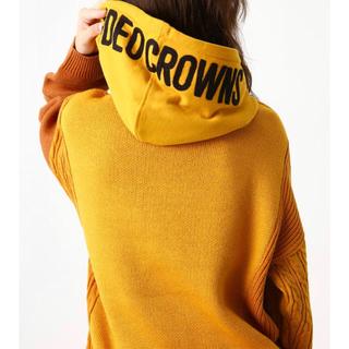 ロデオクラウンズワイドボウル(RODEO CROWNS WIDE BOWL)のRODEO CROWNS WIDE BOWL 👑人気ニット パーカー新品(パーカー)
