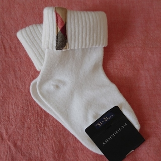BURBERRY - 【新品未使用】バーバリー BURBERRY 靴下 サイズ:12-15