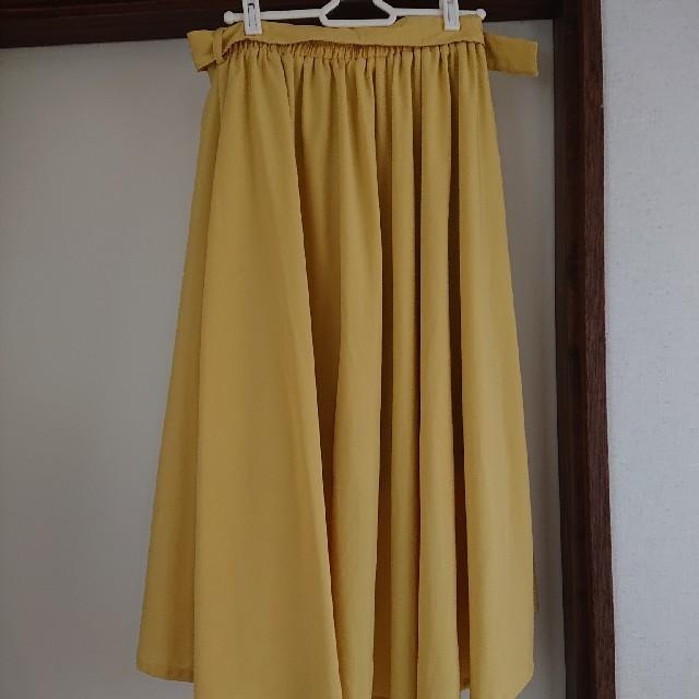 しまむら(シマムラ)のしまむら ミモレ丈 スカート レディースのスカート(ひざ丈スカート)の商品写真