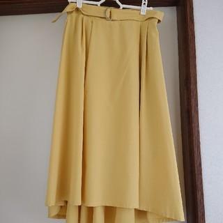 しまむら - しまむら ミモレ丈 スカート