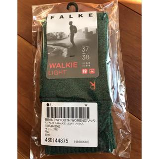 ビューティアンドユースユナイテッドアローズ(BEAUTY&YOUTH UNITED ARROWS)のFALKE WALKIE LIGHT 37 38(ソックス)